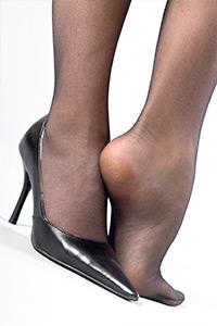 Nylon Fußfetisch